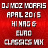 DJ MOZ MORRIS - APRIL 2015 CLASSIC NRG & EURO MIX