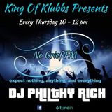 Philthy'z Funky Thursday Live on No Grief FM.