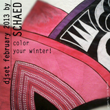SCHAED // FEBRUARY 2013 // PUT COLOR IN YOUR WINTER // djset