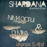 Mike - Live @ Shardana Ibiza closing party  - April 2013