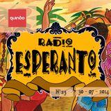 Radio Esperanto 30 juli 2014