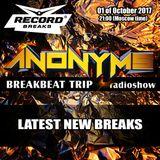 ANONYMS - BREAKBEAT TRIP 01.10.2017 @ RADIO RECORD BREAKS