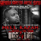 MURDER MASTER MUSIC SHOW  EPISODE 454 HELLRAZAH MUSIC INC.