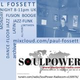 The Session with Paul Fossett 10.09.18  on www.soulpower-radio.com
