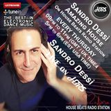 Sandro Dessì *Amazing House* Live on HBRS 14 October 2017