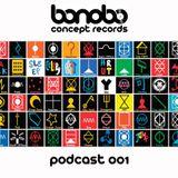 Bonobo Concept podcast 001  Mixed by FAKTORM. 15-01-2013