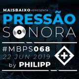 Pressão Sonora - 22-06-2019