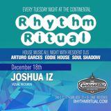 Eddie House live @Rhythm Ritual 12/18/18