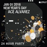 Ace Alvarez Live From Output, Brooklyn, New Years Day 2016