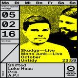 Skudge (Live PA) @ Tresor Meets Skudge - Tresor Berlin - 05.02.2016