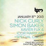 The BPM Festival / Ibiza Sonica Showcase @ Mamita's / 2013.Jan.8th / Ibiza Sonica on Tour / Part I