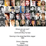 Secret Sounds Stagione 2 - Omaggio a David Bowie