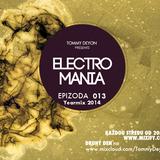 Tommy Deyon - ElectroMania 013 (2014 Yearmix)(31-12-2014)