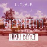 Nikki Beach Miami Sunday Brunch warm up ( February 26th 2017 )
