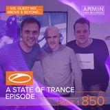 Armin van Buuren - ASOT 850 (Part1) 3Hours (Free) [https://www.facebook.com/lovetrancemusicforever]