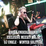 Korea Underground Exclusive Mixset Vol.18 DJ UNKLE - Winter Solitude