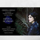 """13-02-19 13-02-19 Emprendedores con Cristina Merino. Hablam""""Saudade. El jardín de las flores azules"""""""