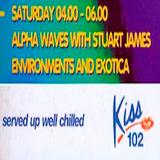 Alpha Waves ( Kiss 102 Manchester ) Ep001, Part 1, 22 0ct 1994.