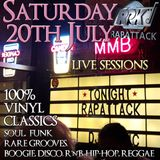 Live Sessions - Saturday 20th July 2019