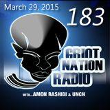 Griot Nation Radio 183 - 3/29/2015