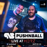 Push'n'Ball - Live at HERZ - techno special [2017-07-13]