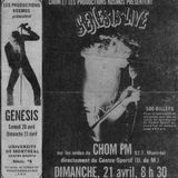 Interview with P.Gabriel Montreal radio station CHOM-FM April 21st 1974