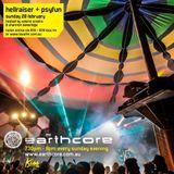 earthcast #093 - earthcore show on kiss fm 28/2/16 (special guest hellraiser + daniel psyfun)