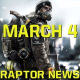 The Division Endgame Details & Overwatch Release Date - Raptor News March 7