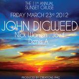 Nick Warren (Hope Recordings) @ 11th Annual Sunset Cruise - WMC 2012, Lady Windridge Yacht (23.03.)