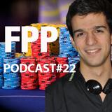 """FPP Podcast #22 - Futebol, Poker e Política com André """"Wade"""" Santos"""