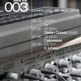 #003 - 140403 - Stefan Gubatz | Live