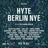 "Carl Cox at ""Hyte Berlin NYE"" @ Arena (Berlin - Germany) - 31 December 2016"