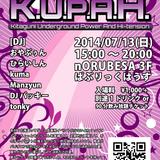 [K.U.P.A.H. Vol.001] Oyabuun - Saikou no Natsu ni shiyouna!! DJmix [2014-07-13]