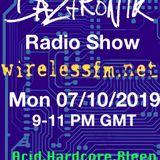 Daztronik radio show Wireless FM 7 Oct 2019