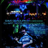 CJ Art ][ Artelized @ Save GoaDupa w/ Aes Dana (CentrumKoncertoweA2 - Wrocław) Main Stage [13.10.18]