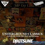 DJ Kitsune - Underground Classics (Live On Jam FM, Oct 10th, 2012)