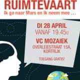 Wetenschapscafé Kortrijk - Ruimtevaart (28/04/15)