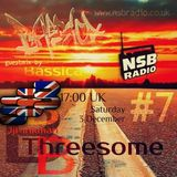 The JJPinkman's BBB3some Show #7.2: Guest Mix by Bassica [03rd December 2016] | NSB RADIO