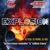 Prome live dj set @ 16-12-11 La Scala (Rsm) / EXPLOSION (Classic Techno-Trance Night)