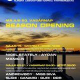 Nigel Stately & Manic N & Aydan - Live @ Coronita Club Budapest Coronita Summer 2012.05.19.