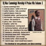 DJ Mac Cummings Worship N Praise Mix Volume 3