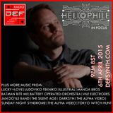 Doncaster Electronic Foundation Radio - 6th April 2015 - Heliophile In Focus