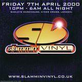Nicky Blackmarket with Magika - in the old skool arena - at Slammin Vinyl (April 2000)