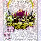 4 Years Cosmophonic Sound - The Mixtape