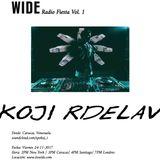 Koji Rdelav (Live at WIDE Radio Fiesta Vol.1)