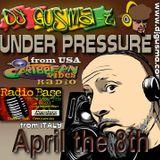 UNDER PRESSURE REGGAE RADIO SHOW - April The 8th 2014