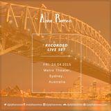 DJ Alpha Romeo Liveset @ Metro Theater (Sydney, Australia)