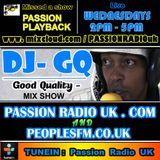 Dj GQ SCHOOL RUN |WEDNESDAY 2-5PM| passionradiouk.com | mix show