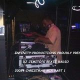 INFINITY PRODUCTIONZ PROUDLY PRESTENTS DJ JIMITOS BEATZ RADIO CHRISTMAS MIX PART 1