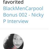 BlackMenCarpool Bonus 003 | Jacqueline E Perry Interview
